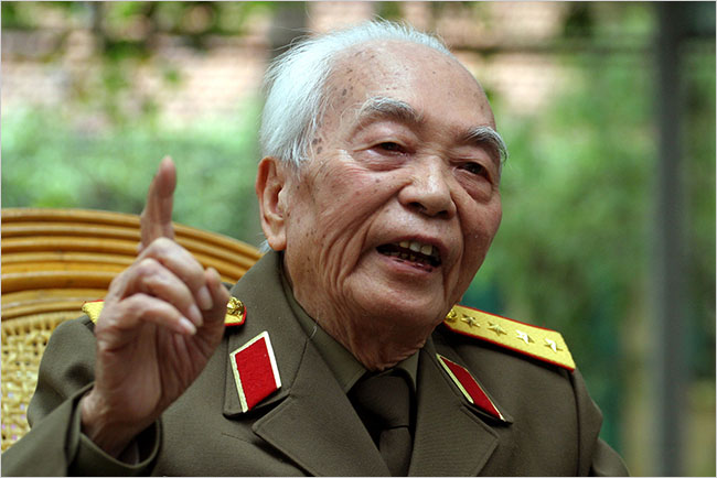 From the archives: A message from General Giap