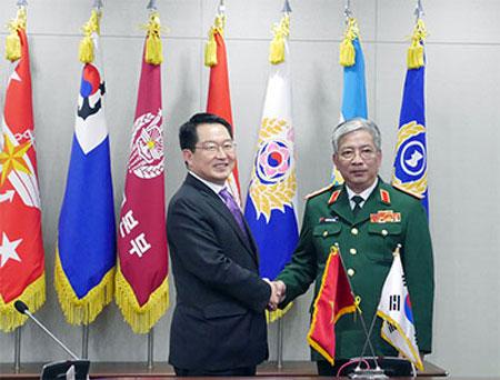VN RoK expand defence dialogue