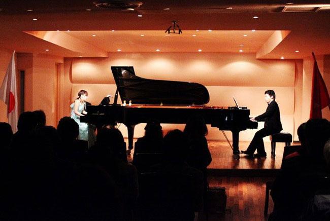 VN-Japan piano festival premieres