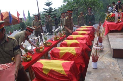 Viet Nam strives to collect fallen martyrs