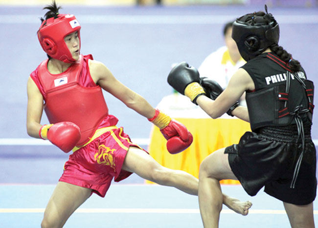 Wushu artists excel with Games medal haul