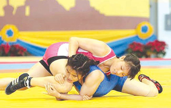 Wrestlers add to VN gold medal tally