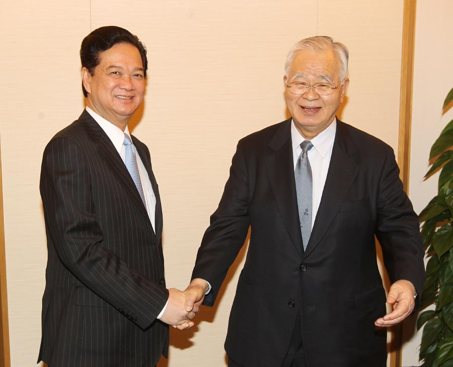 PM seeks more Japanese business support