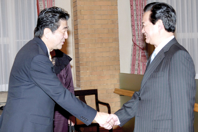PM aims to boost ties with Japan