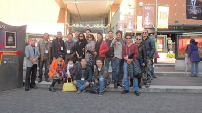 VN theatre workers visit Japan observe Japanese colleagues