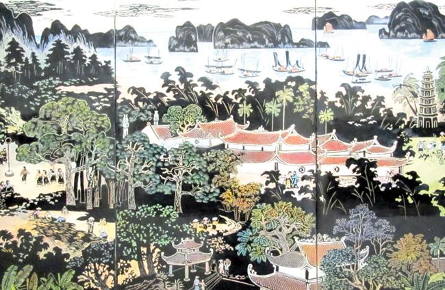 Ha Noi painters show perfect strokes