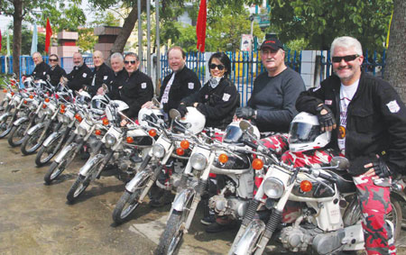 Brave bikers gear up for challenge