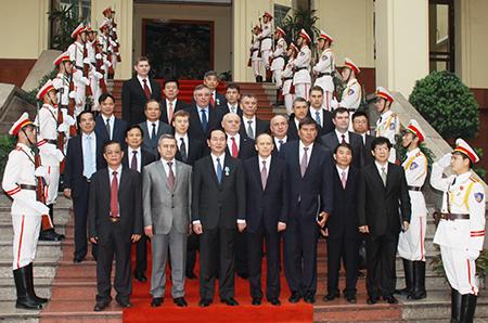 Vietnamese Russian security leaders hold talks