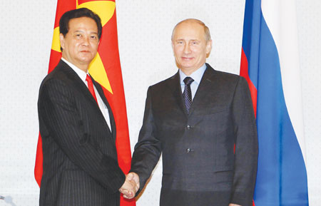 PM meets with President Putin to wind up official Russia visit