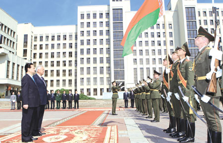Prime Minister Dung talks trade co-operation in Belarus