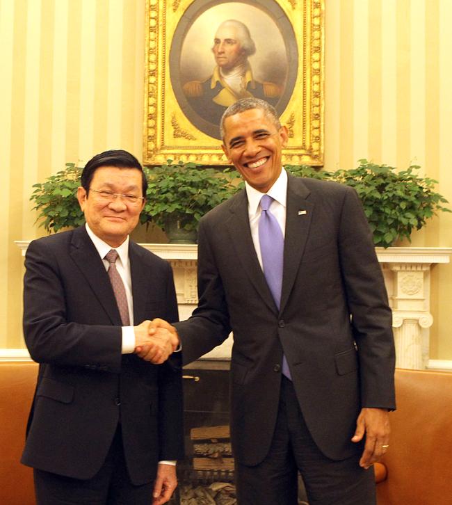 Vietnam US establish comprehensive partnership