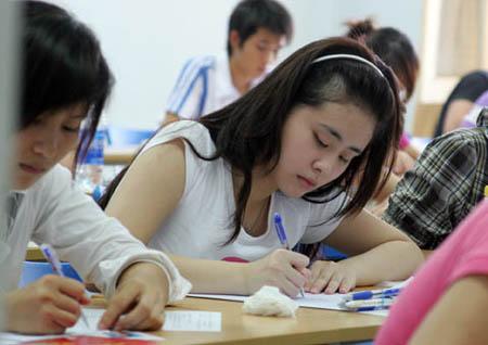 Entrance exams attract 600000