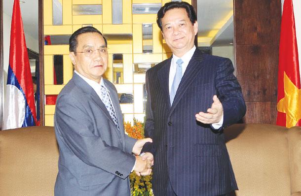 PM Dung hails Lao border progress