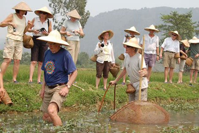 Tourists feel at home in Ninh Binh