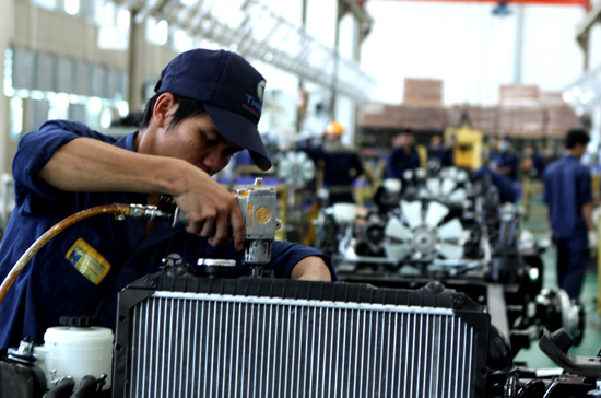 Industrial production slows to 4.4% in August
