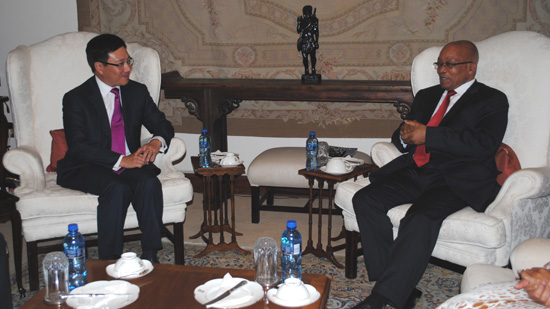 Strong co-operation with S Africa priority