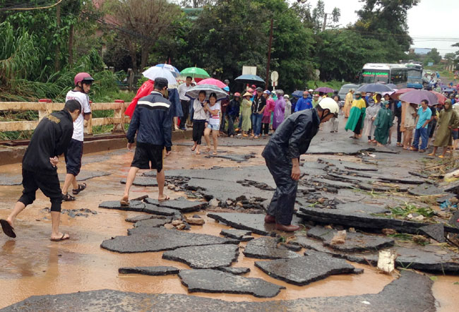 Several die in eighth tropical storm of year