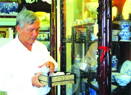 Martial artist fighting for ancient culture