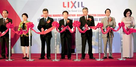 Lixil Vietnam opens Dong Nai factory