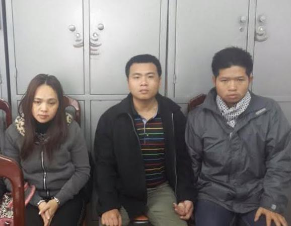 Ha Noi police arrest credit card forgers