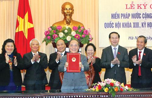 The constitution of the socialist republic of Viet Nam