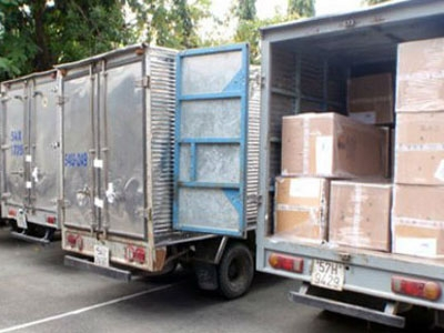 On 27 December, 2012, police seized four trucks carrying Gucci and Dolce & Gabbana clothes, belts, scarves, shoes, and bags from the basement of the Sheraton Sai Gon Hotel in HCM City's District 1.