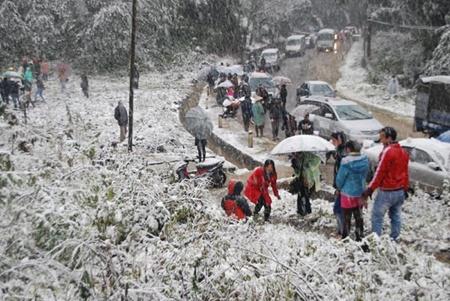 Snow in Sa Pa