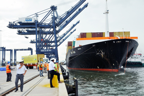 Northern ports handle first tonnes of cargo in 2014