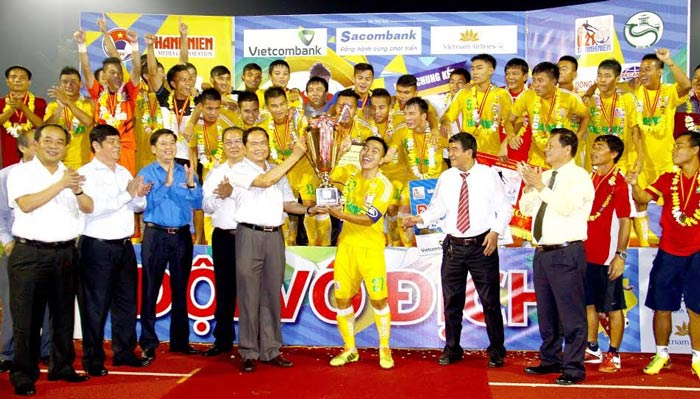 Nghe An overcome TT to claim record U21 championship