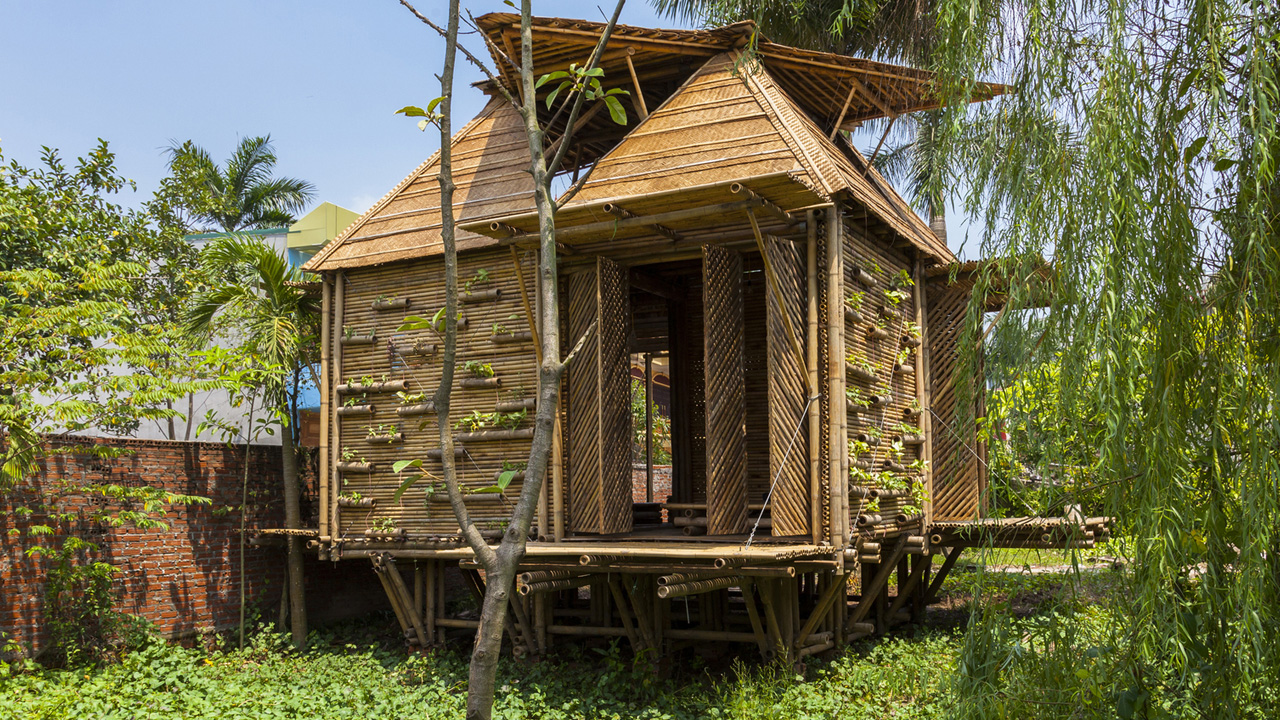 Vietnamese bamboo house highly commended in WAN Awards