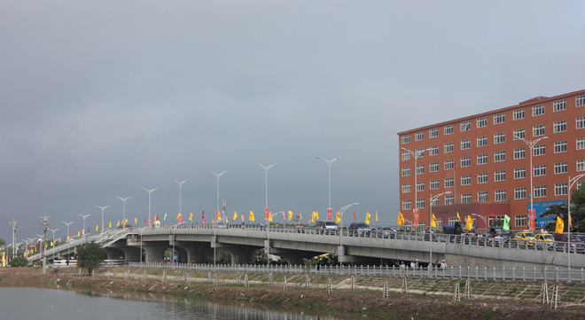 New flyover to ease Nghe An traffic