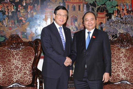 Deputy PM receives Asiana chairman