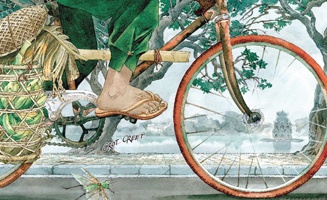 Artists new graphic novel illustrates childhood fantasy in vivid watercolour