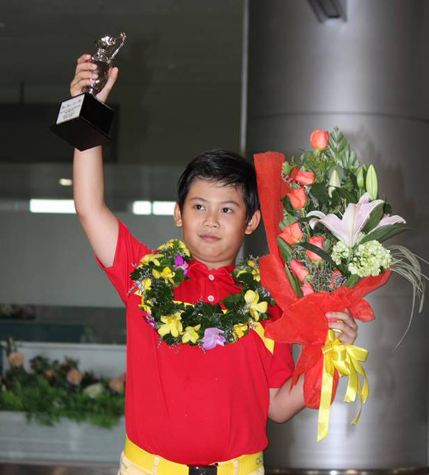 Young golfer Anh wins silver in world championships