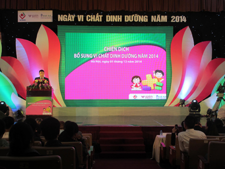 Micronutrient Day targets moms kids