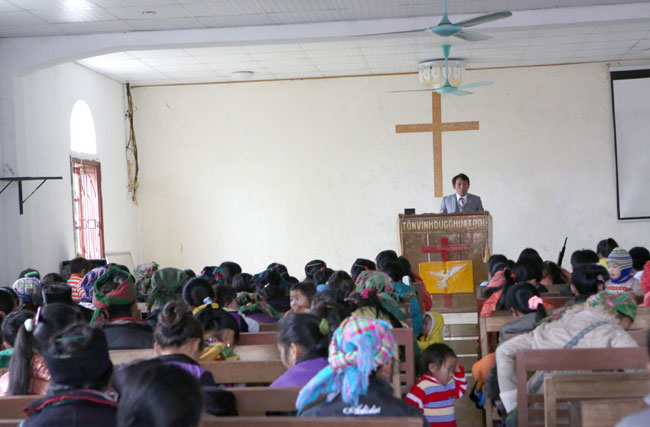 Pastor sows seeds of growth in northern mountains