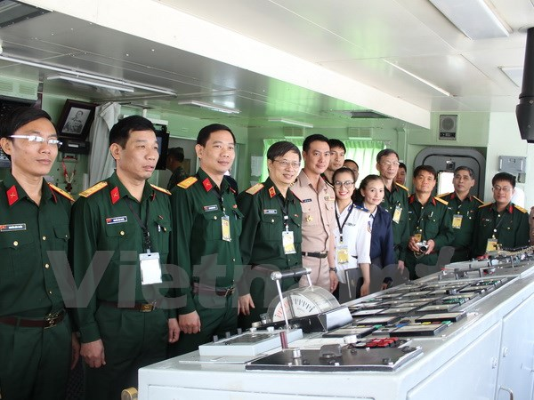 Viet Nam Thailand military officers join first exchange