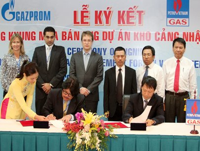 VN Russian companies ink gas deal