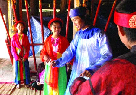 Xoan Gheo folk songs brought back to life