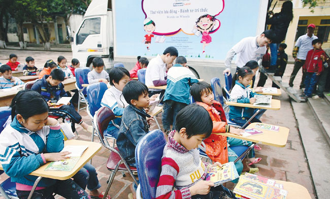 HCM City rolls out mobile digital library