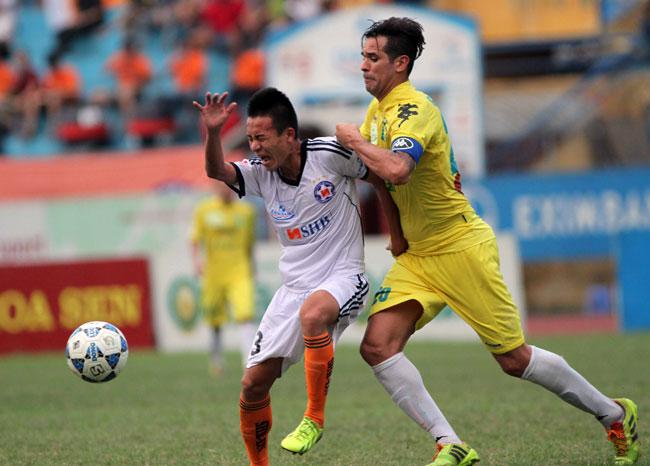 Ha Noi TT climb V-League table