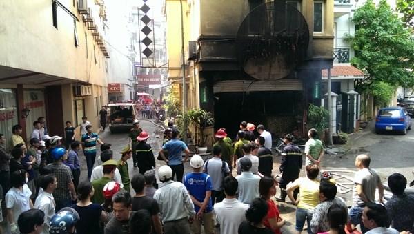 Five killed in Hanoi karaoke blaze