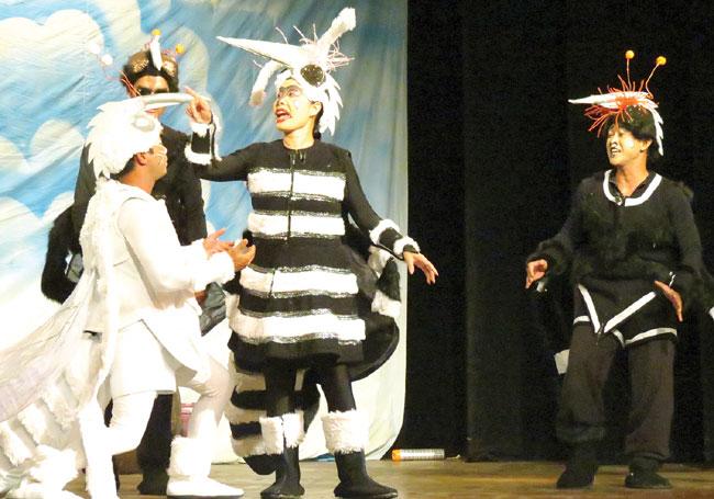 Comedy informs City kids about dengue fever