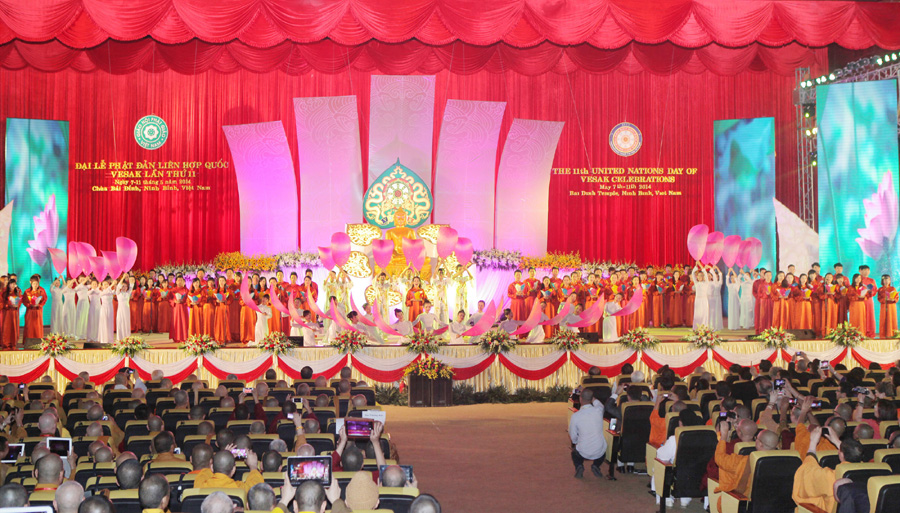 Nations come together to celebrate day of Buddhism