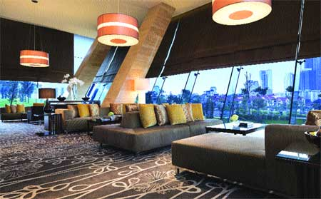 Sky lounge takes tea to new heights
