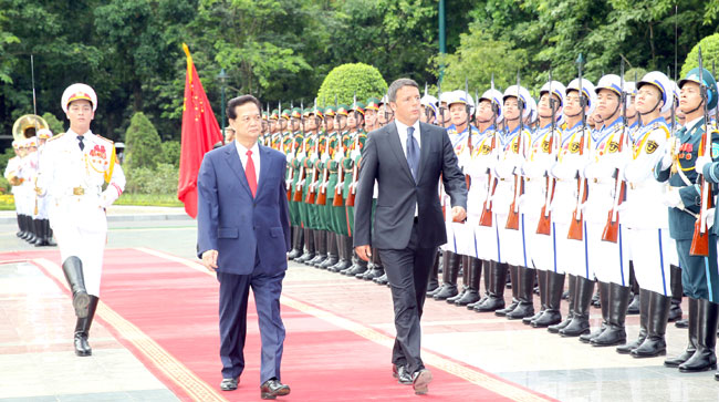 Viet Nam Italy target 5b in trade pledge to strengthen cooperation
