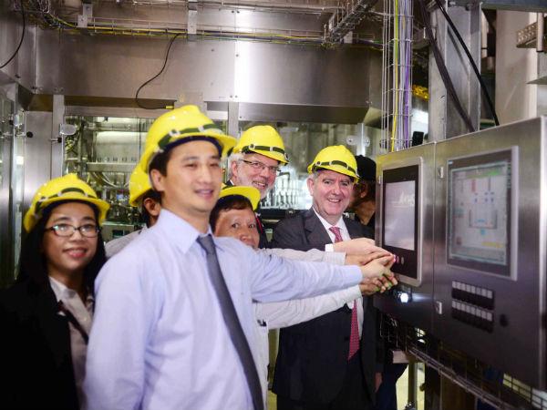 Coca-Cola Vietnam opens new plants