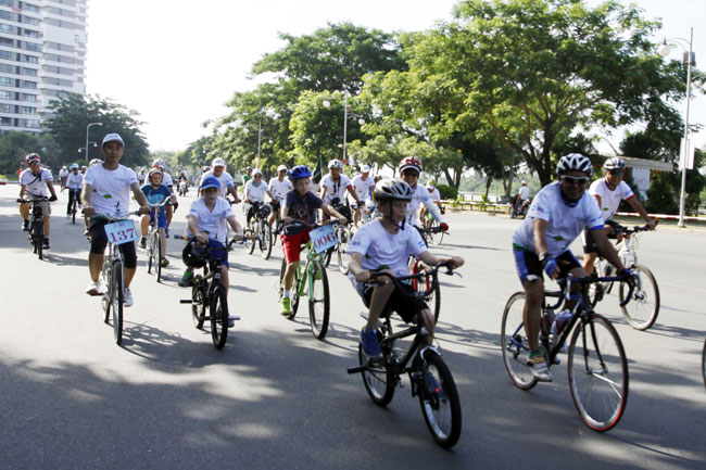 Bike ride held for Environment Day