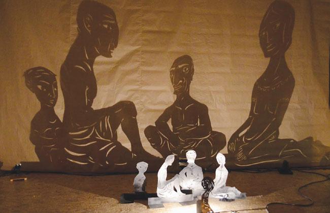 Puppet show combines art of east meets west