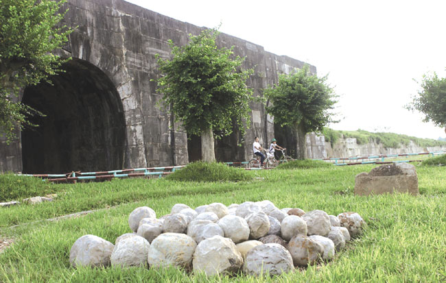 Ho Citadel residents to play part in preservation